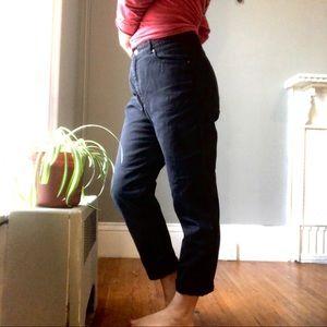 Vintage DKNY Black High Waisted Mom Jeans